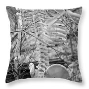 This Is Your Spinal Notice Throw Pillow by Betsy Knapp