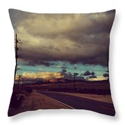 This Journey Of Ours Throw Pillow by Laurie Search