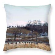 Thoroughbred Thoroughfares Throw Pillow by Paulette B Wright