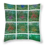Through The Ice Age And Global Warming To The Green World - Featured 3 Throw Pillow by Alexander Senin