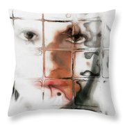 Through The Window Throw Pillow by Gun Legler
