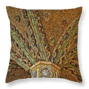Tile Work Throw Pillow by Susan Candelario