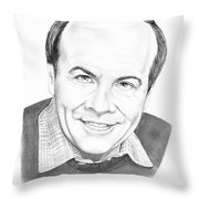Tim Conway Throw Pillow by Murphy Elliott