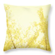 Time After Time Throw Pillow by Amy Tyler