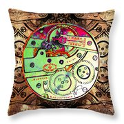 Time Machine 20130606 square Throw Pillow by Wingsdomain Art and Photography