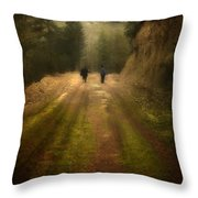 Time Stand Still Throw Pillow by Taylan Soyturk