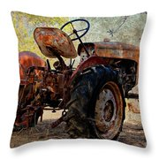 Time To Sleep Throw Pillow by Clare Bevan