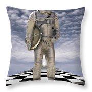 Time Zone Throw Pillow by Mike McGlothlen