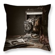 Timeless Throw Pillow by Amy Weiss