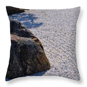Timeless Zen Throw Pillow by Joy Hardee