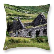 Times Past Throw Pillow by Aidan Moran