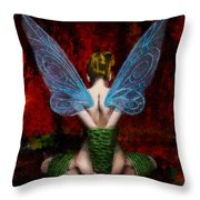 Tink's Fetish Throw Pillow by Christopher Lane