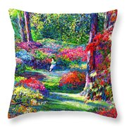 To Read And Dream Throw Pillow by Jane Small