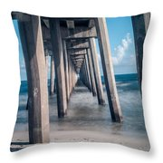 To The World Beyond Throw Pillow by Jon Cody