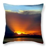 Today Is Forever Lost Tomorrow Throw Pillow by Karen Wiles
