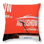 Toronto Autoshow Throw Pillow by Valentino Visentini