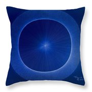 Towards Pi 3.141552779 Hand Drawn Throw Pillow by Jason Padgett