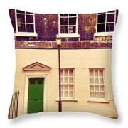 Townhouse Throw Pillow by Jill Battaglia