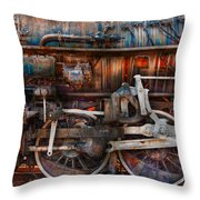 Train - With Age Comes Beauty  Throw Pillow by Mike Savad