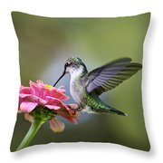 Tranquil Joy Throw Pillow by Christina Rollo