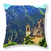 Tranquil Landscape Throw Pillow by Mariola Bitner