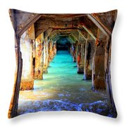 Tranquility Throw Pillow by Karen Wiles