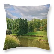 Tranquility Throw Pillow by Kim Hojnacki