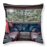 Trans Siberian Express Throw Pillow by Trever Miller