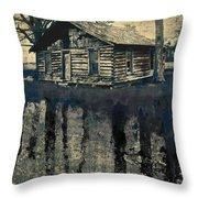 Transitory Throw Pillow by Brett Pfister