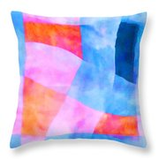 Translucence Number 2 Throw Pillow by Carol Leigh
