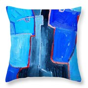Translucent Togetherness Throw Pillow by Ana Maria Edulescu