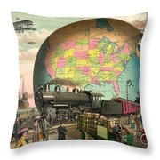 Transportation Throw Pillow by Gary Grayson