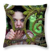 Trapped Throw Pillow by Semmick Photo