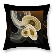 Travel In Time To 1969 Series Pano Throw Pillow by Andee Design