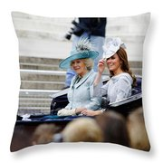 Trooping The Colour 2012 Throw Pillow by Dutourdumonde Photography