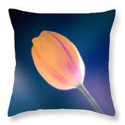 Tulip Throw Pillow by Marcin and Dawid Witukiewicz