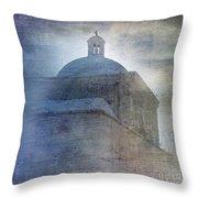Tumacacori Afternoon Throw Pillow by Sandra Bronstein