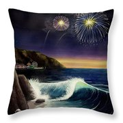 Twilight's Last Gleaming Throw Pillow by Jack Malloch