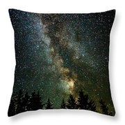 Twinkle Twinkle A Million Stars D1951 Throw Pillow by Wes and Dotty Weber