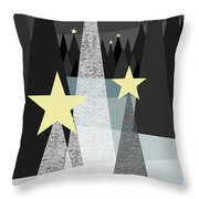 Twinkle Throw Pillow by Val Arie
