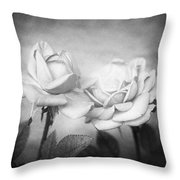 Twins Throw Pillow by Nataly Rubeo