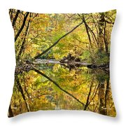 Twins Throw Pillow by Frozen in Time Fine Art Photography