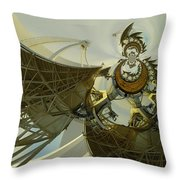 Twisted Beauty Of Chaso Throw Pillow by Jeff Swan