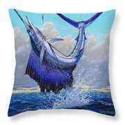 Twisted Off0013 Throw Pillow by Carey Chen