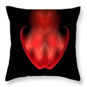 Two Become One Throw Pillow by Bruce Nutting