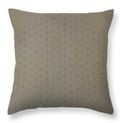 Two To The Power Of Nine Or Eight Cubed Throw Pillow by Jason Padgett