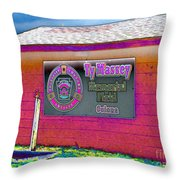 Ty Massey Memorial Colona Il Throw Pillow by Margaret Newcomb