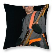 U2-adam-gp24 Throw Pillow by Timothy Bischoff