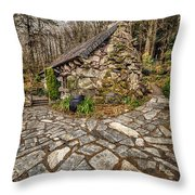 Ugly Cottage Throw Pillow by Adrian Evans