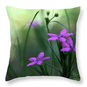Ultra Violet Throw Pillow by Neal  Eslinger